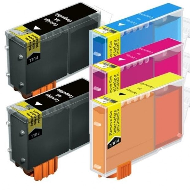 Inkjet Cartridges for Canon BCI-3 Black / Bci-3 Bci-6 Colours