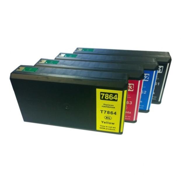Pigment Inkjet Cartridge Set to suit Epson 786XL