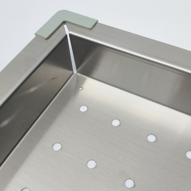Stainless Steel Sink Colander 425 x 250mm Image 3