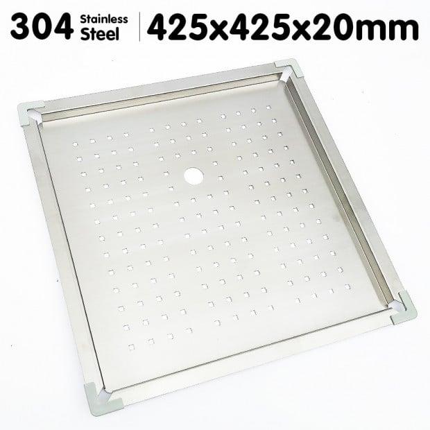 Stainless Steel Sink Colander 425 x 425mm