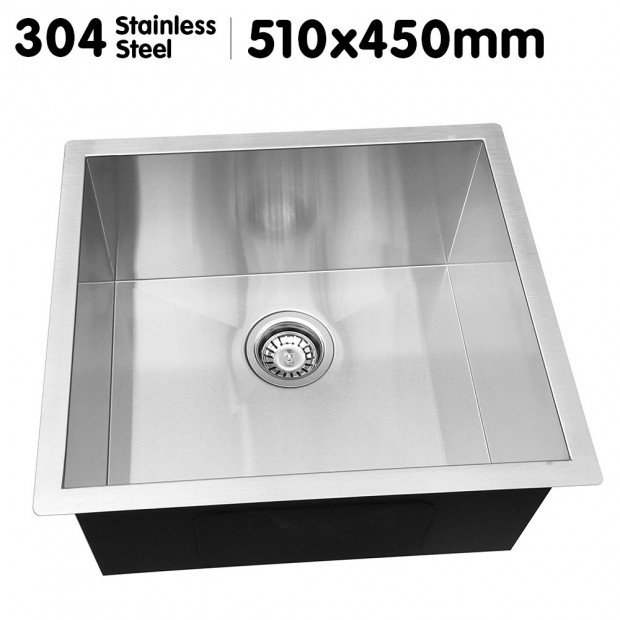 304 Stainless Steel Sink - 510 x 450mm