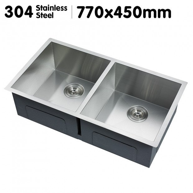 304 Stainless Steel Sink - 770 x 450mm