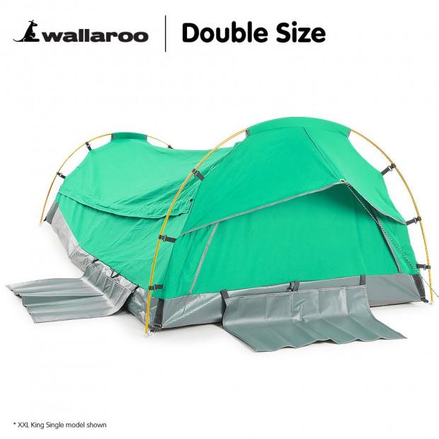 Wallaroo Swag Dome Tent Double - Celadon