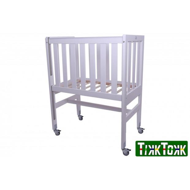 TikkTokk ASPEN Cot Pine WHITE (w/o mattress)
