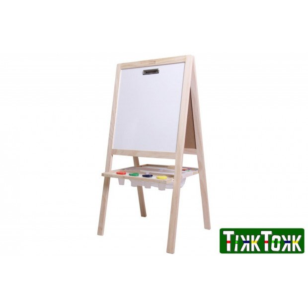 TikkTokk Little BOSS Easel 4-in-1