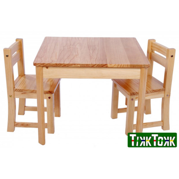 TikkTokk TUFSTUF Junior Table & Chair Set