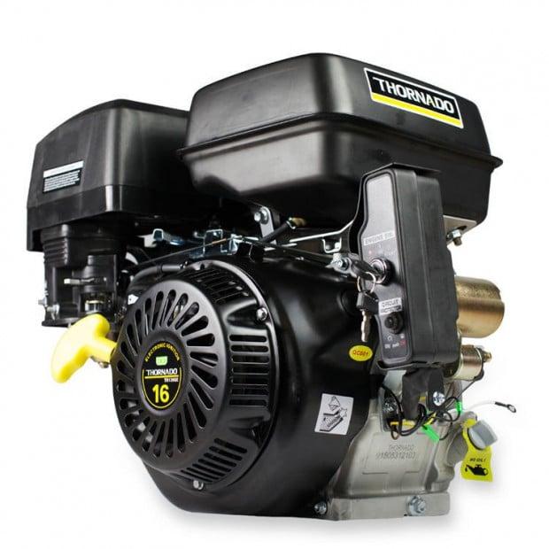 Petrol 420cc Electric Start Stationary Motor 16HP Engine - 25.4mm Shaft