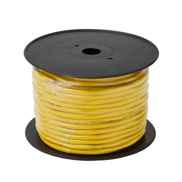 50m Ultra Premium Speaker Cable, 12 AWG, In-Wall Installation