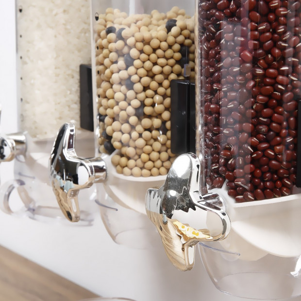 Wall Mounted Triple Cereal Dispenser Image 3