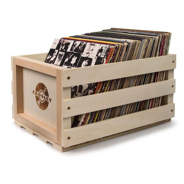 Crosley 12in LP record storage crate