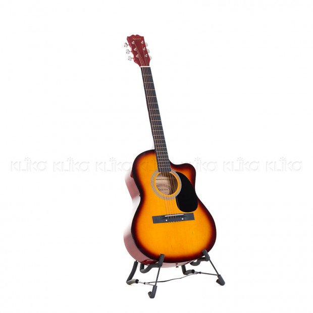 Karrera 40in Acoustic Guitar - Sunburst