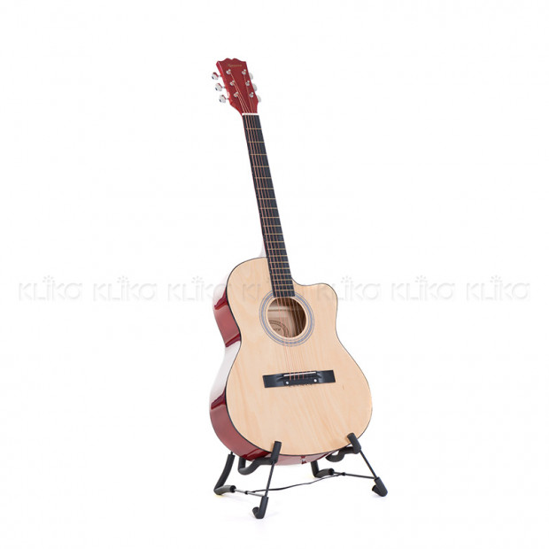 Karrera 40in Acoustic Guitar Natural