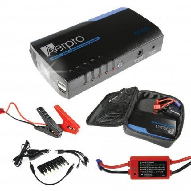 Aerpro AP12000J 500 Amp Portable Jump Starter Kit Image 1