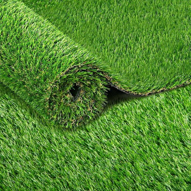 Synthetic Grass 2 x 5M 30mm Thick - Natural