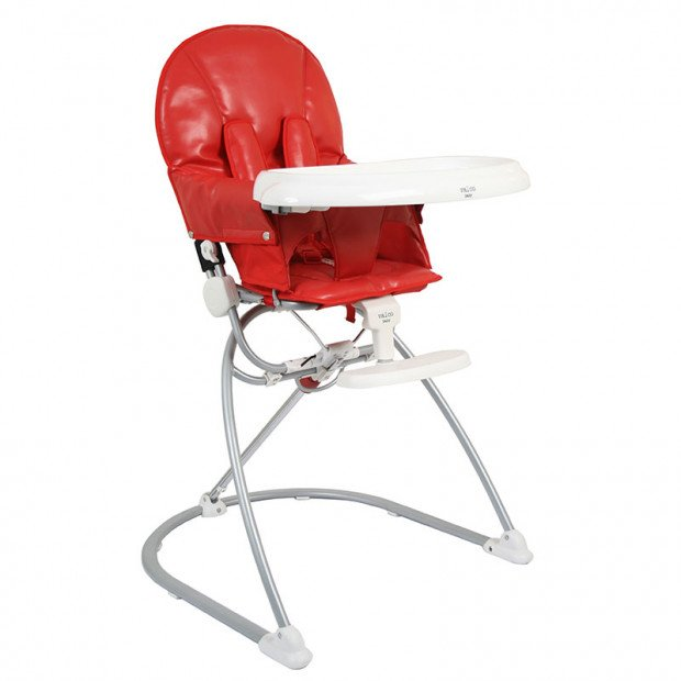 Valco Baby Astro High Chair Red