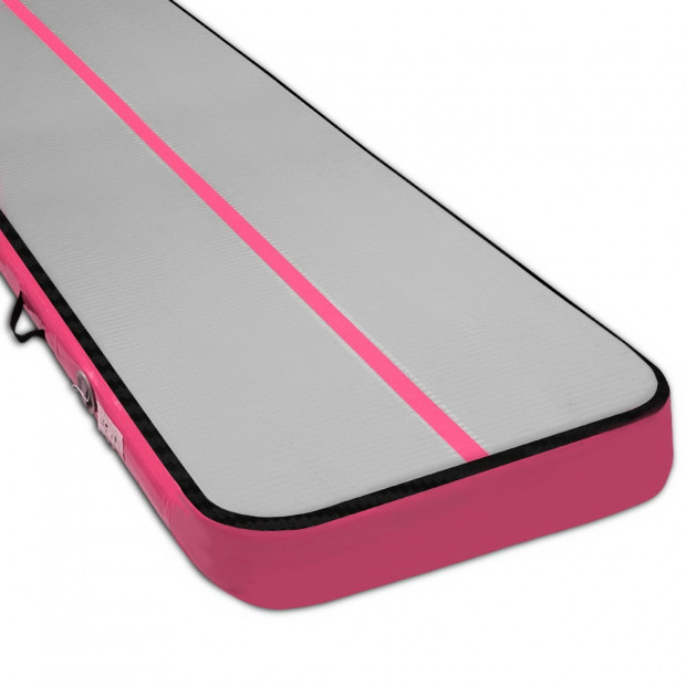 8MX1M Inflatable Airtrack Air Track Tumbling Gymnastics Mat Floor Pink