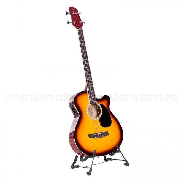 Karrera 43in Acoustic Bass Guitar - Sunburst
