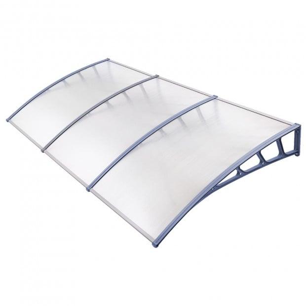 Window Door Awning Door Canopy Outdoor Patio Sun Shield 1.5mx3m DIY
