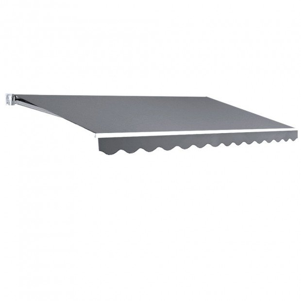 Instahut 4M x 2.5M Outdoor Folding Arm Awning - Pegru