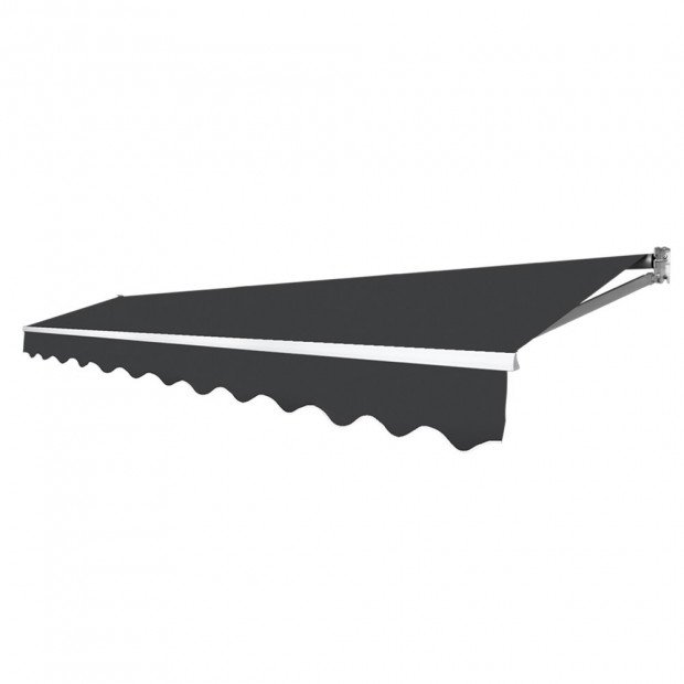 Retractable Outdoor Arm Awning 4 x 3M - Grey