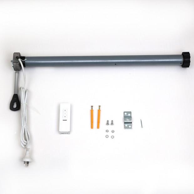 Instahut Motorised 2x1.5m Folding Arm Awning - Grey Image 5