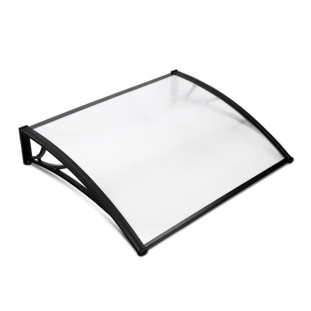 1m x 1.2m Window Door Awning Canopy Rain Cover Sun Shield