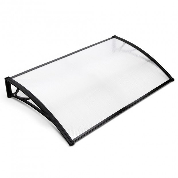 1m x 1.5m Window Door Awning Canopy Rain Cover Sun Shield
