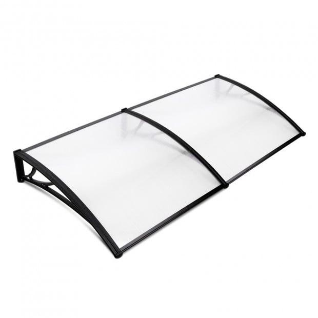 1m x 2.4m Window Door Awning Canopy Rain Cover Sun Shield