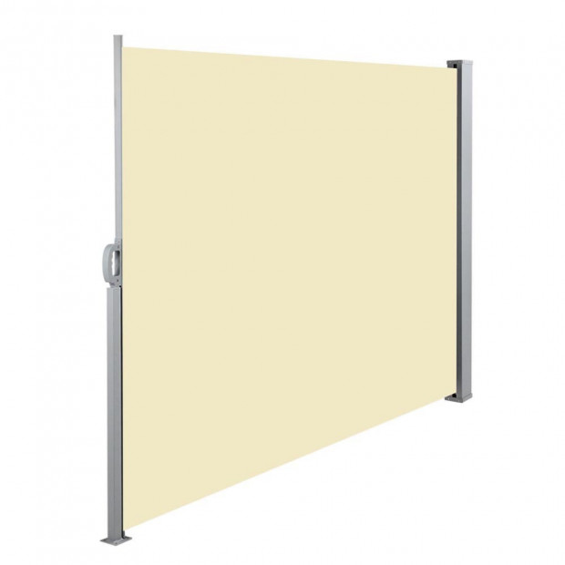 Instahut Retractable Side Awning Shade 2 x 3m - Beige Image 3