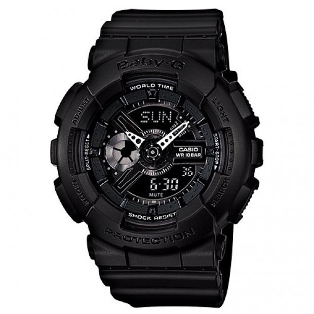 Casio Baby-G Analogue/Digital Female Black Watch BA-110BC-1A...