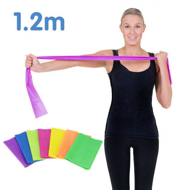 1.2m Powertrain Yoga Pilates resistance band
