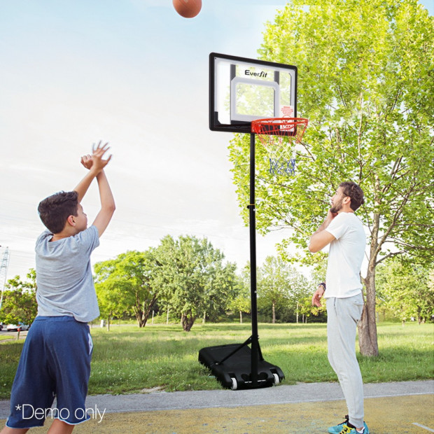 Adjustable Portable Basketball Stand Image 11