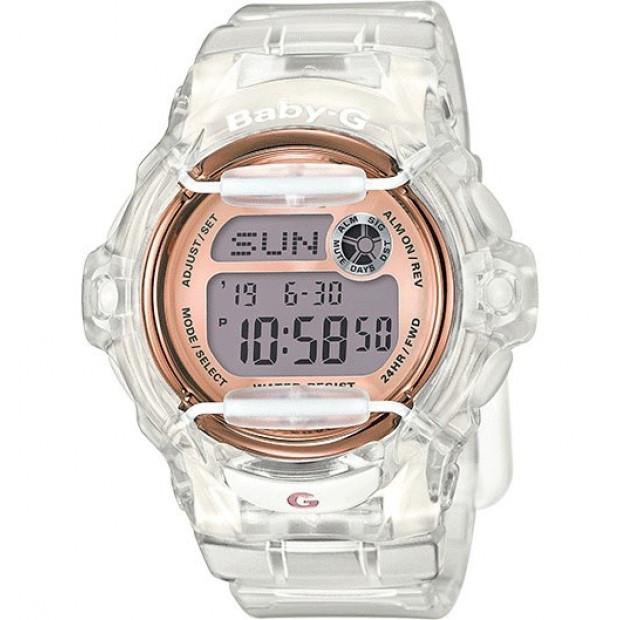 Casio Baby-G Female Transparent Digital Watch BG-169G-7BDR