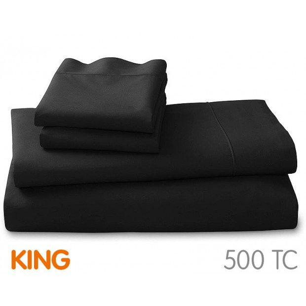500tc Cotton Rich King Sheet Set