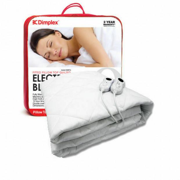 Dimplex Queen Size Pillow Top Electric Blanket