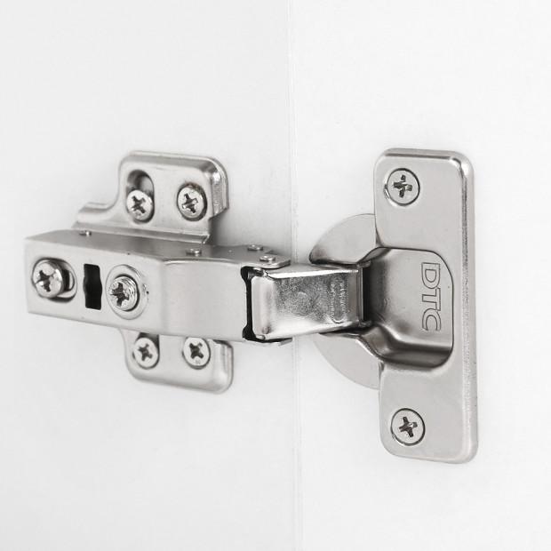 Bathroom Vanity Ceramic Basin Sink Cabinet Wall Hung White Image 5