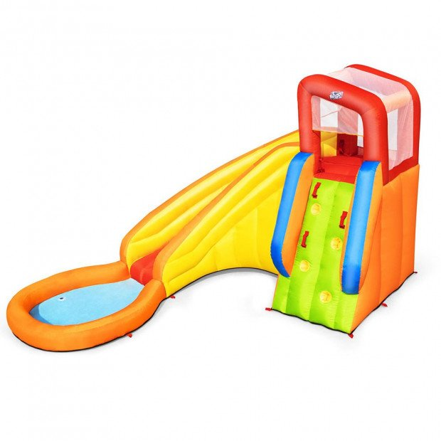 Inflatable Water Slide Park Jumping Castle Splash Toy Pool Playground
