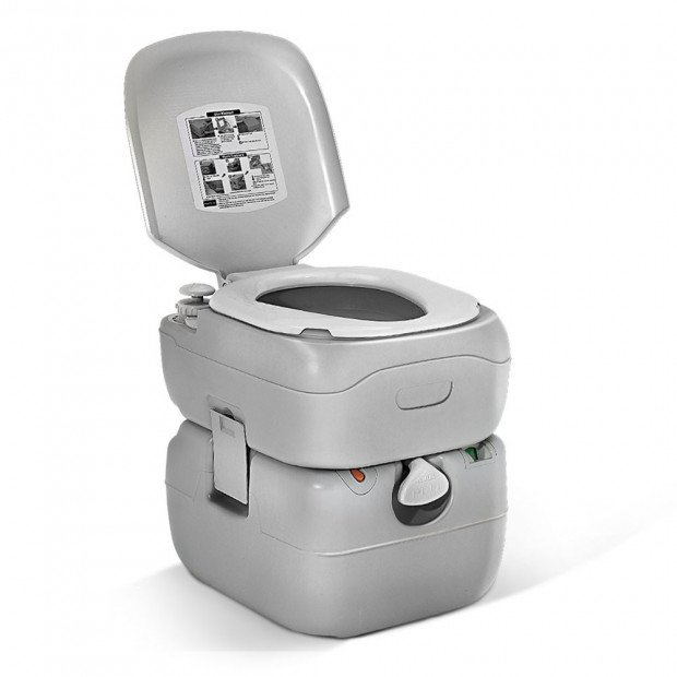 22 Litre Outdoor Portable Camping Toilet