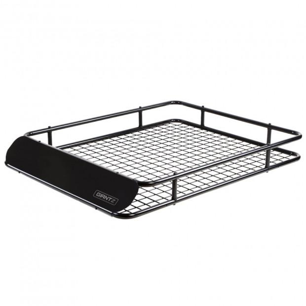 Universal Roof Rack Basket Car Carrier Steel 123cm