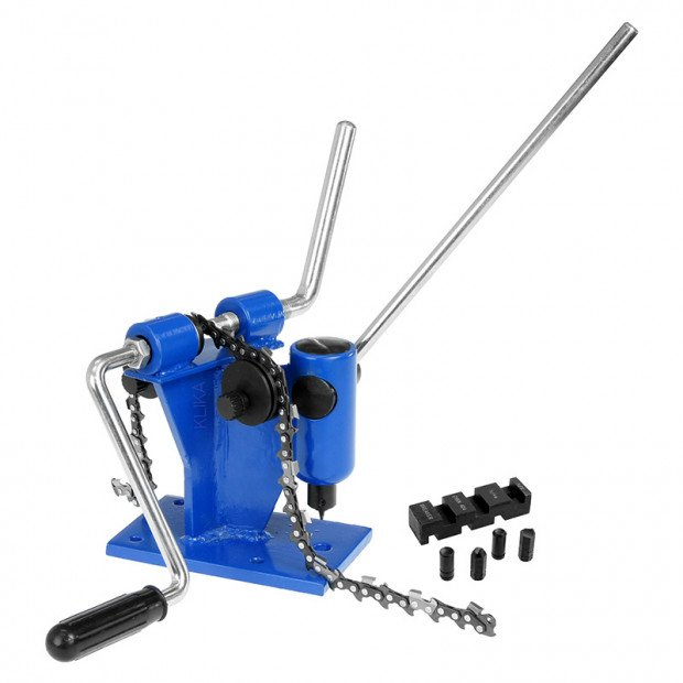 Bench Mounted Chainsaw Chain Breaker and Joiner