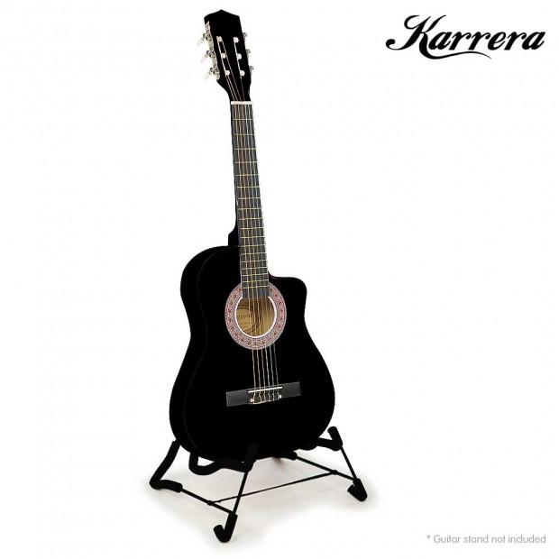Karrera Childrens acoustic guitar - Black