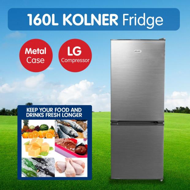 Kolner 160L Fridge LG Compressor Portable Cooler Freezer Refrigerator