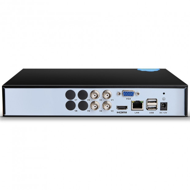 UL-TECH 4CH 5 IN 1 DVR CCTV Security System Video Recorder 4 Cameras Image 3