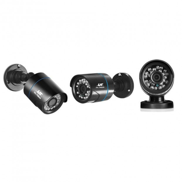 1080P Eight Channel HDMI CCTV Security Camera Image 5