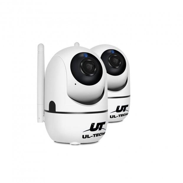 UL-TECH 1080P Wireless IP Camera CCTV Security System r White