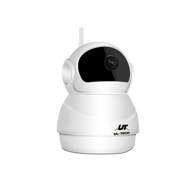 UL-TECH 1080P Wireless IP Camera CCTV Security System White