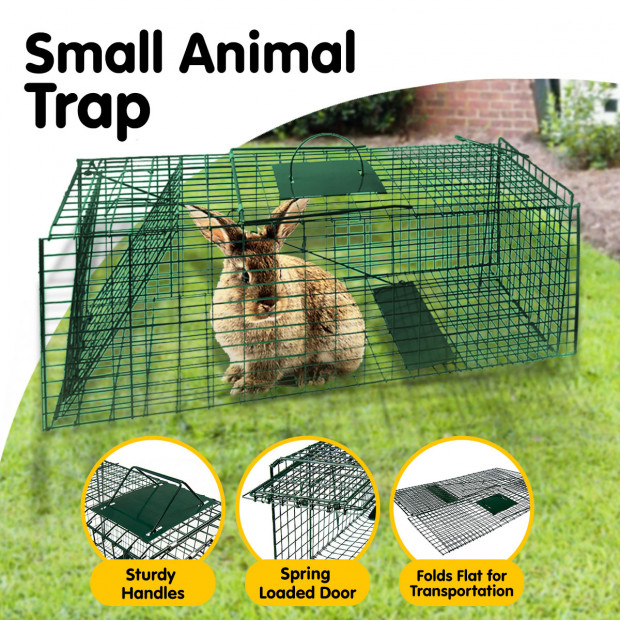 Small Animal Trap Humane Cage Pet  Image 3
