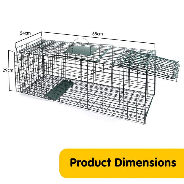 Small Animal Trap Humane Cage Pet  Image 6