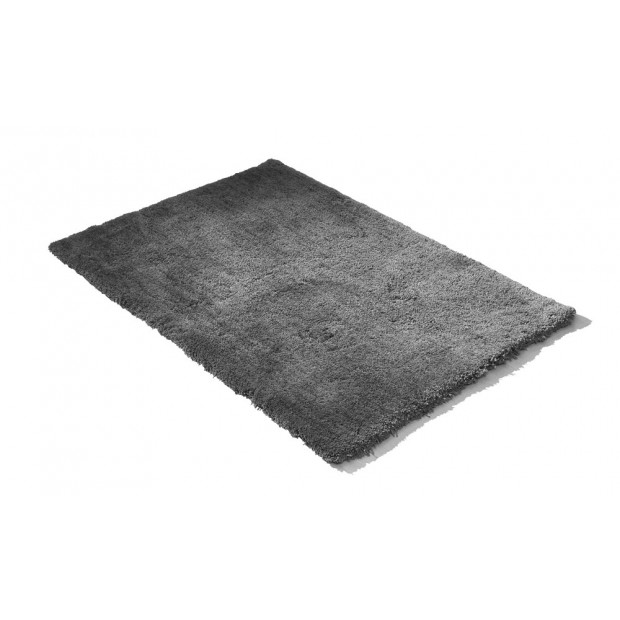 Luxury Soft Plush Thick Rectangle Shaggy Floor Rug Charcoal 160x225cm Image 3