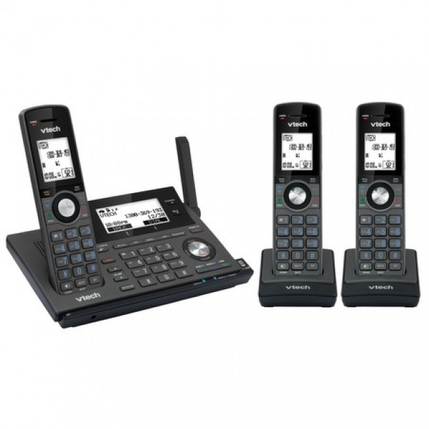 VTech 17850 3-handset Long Range DECT360 Cordless Phone